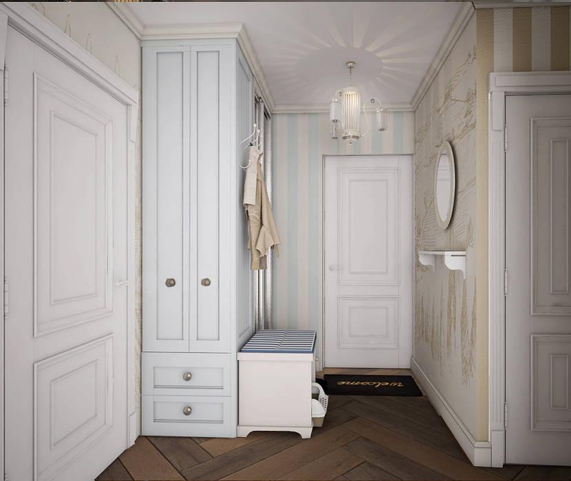 Pasillos, vestíbulos y escaleras de estilo clásico de Юлия Максимук Clásico