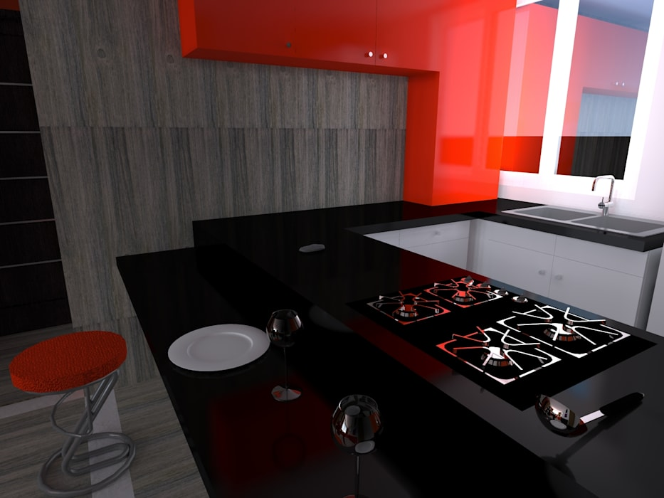 Cocina proyecto. de homify