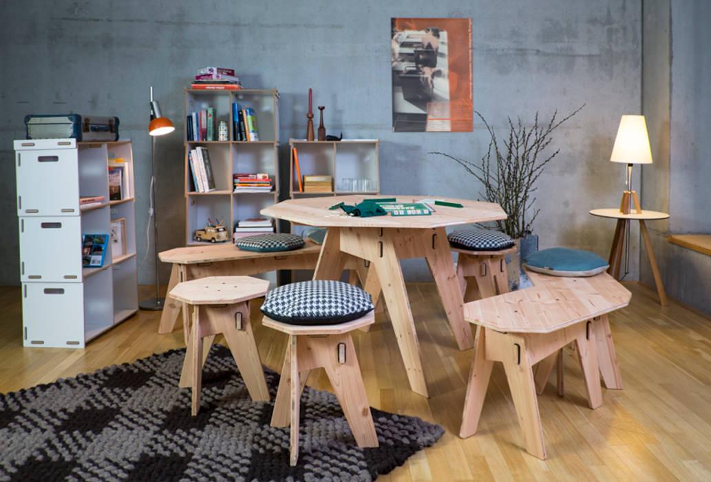 Werkhaus Design | Achteck Mobel Ecken Mit Stil Esszimmer Von Werkhaus Design
