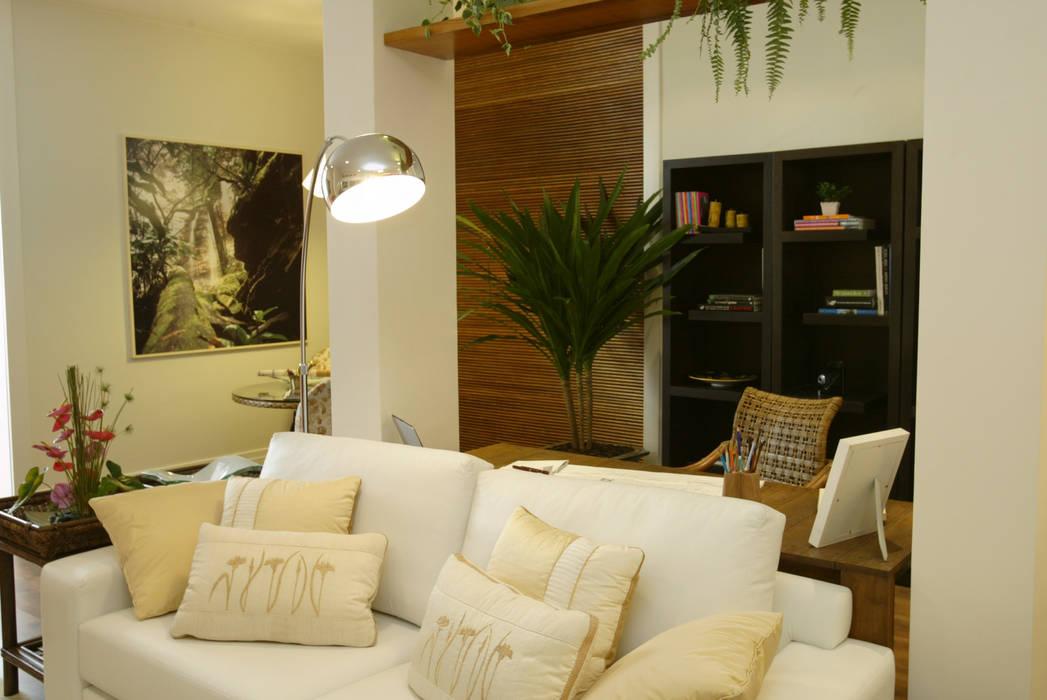 Casa Cor Rio 2008 Emmilia Cardoso Designers Associados Salas de estar modernas