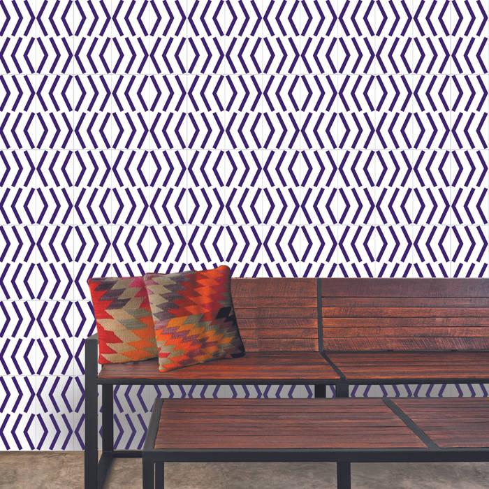 Projekty,  Ściany i podłogi zaprojektowane przez Lurca Azulejos