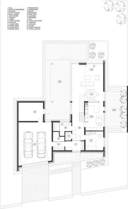 Häuser von BECZAK / BECZAK / ARCHITEKCI,