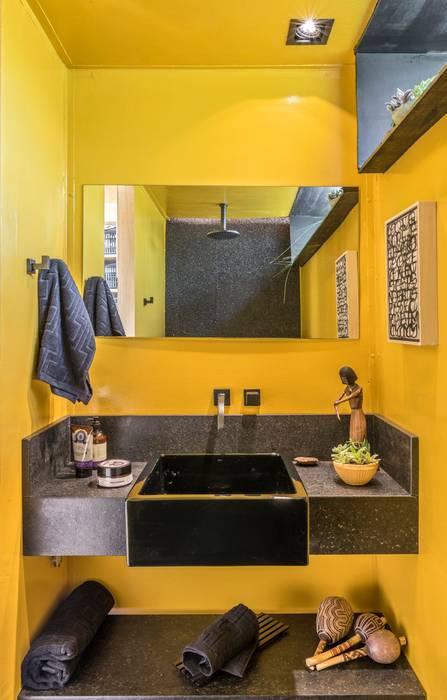 CASULO Modern style bathrooms by MEIUS ARQUITETURA Modern