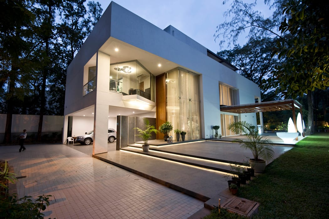 Rumah oleh Chaney Architects, Minimalis