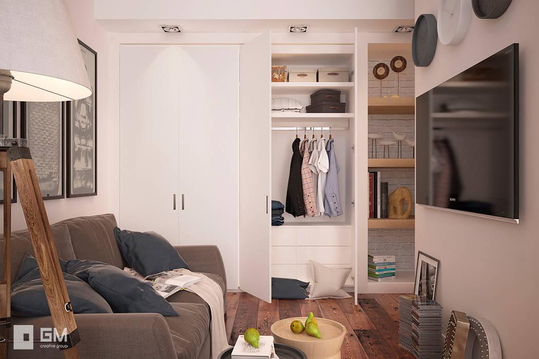 Salas de estilo escandinavo de GM-interior Escandinavo