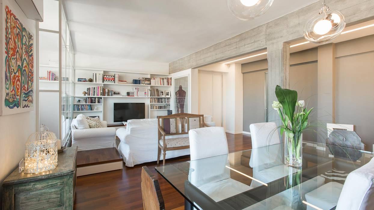 Appartamento ad ostiense - roma soggiorno in stile ...