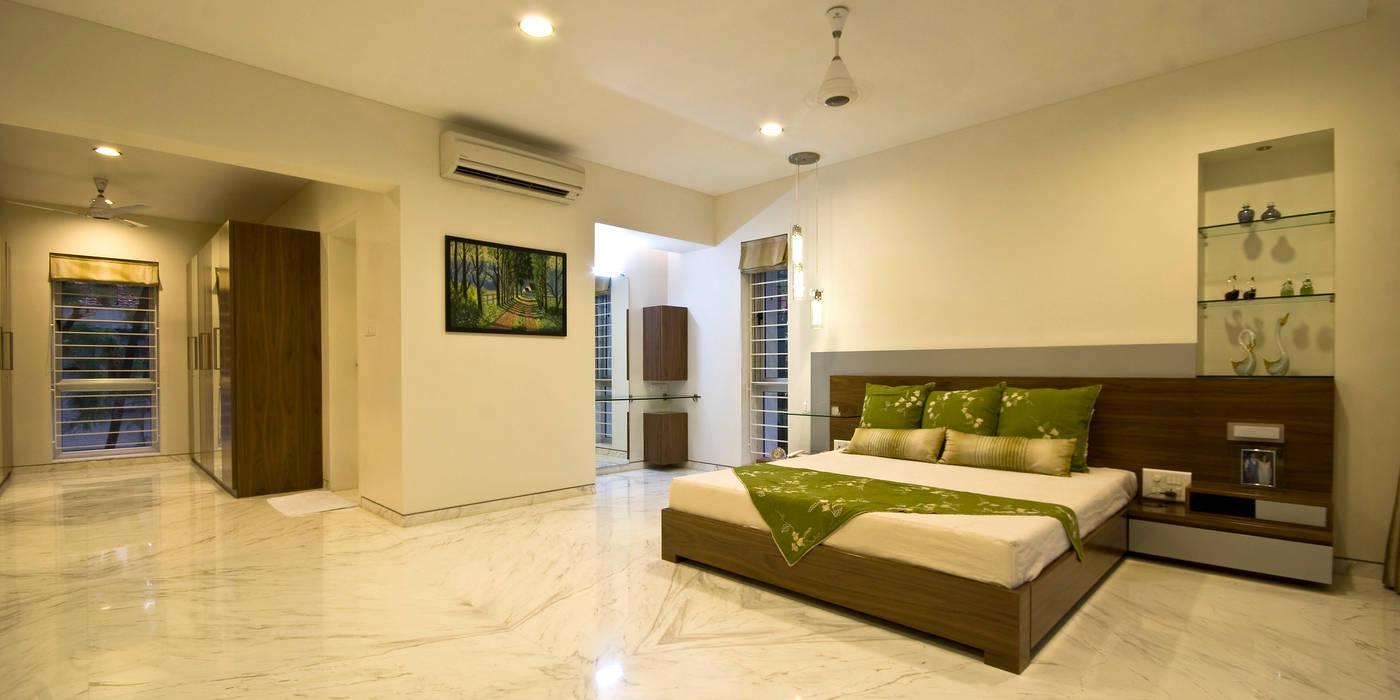 Phòng ngủ phong cách tối giản bởi Chaney Architects Tối giản