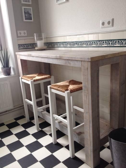 Praktischer bartisch: küche von exklusiv dutch design | homify