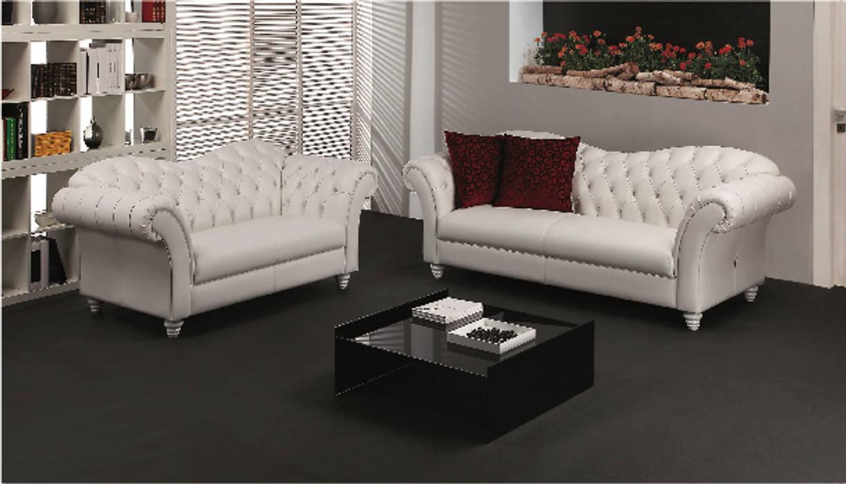 Divani: soggiorno in stile di poltrone & divani | homify
