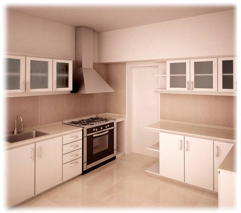 Remodelación: Cocinas de estilo  por GPA studio,Moderno