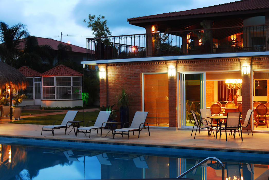 MBDesign Arquitetura & Interiores Country style pool