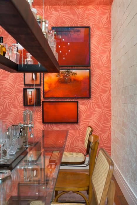 Sala e Jantar e Cozinha Casa Cor 2015: Salas de jantar  por Estúdio Barino | Interiores