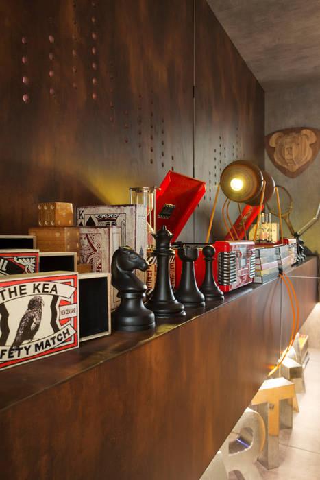 ห้องทานข้าว โดย Estúdio Barino | Interiores, ผสมผสาน