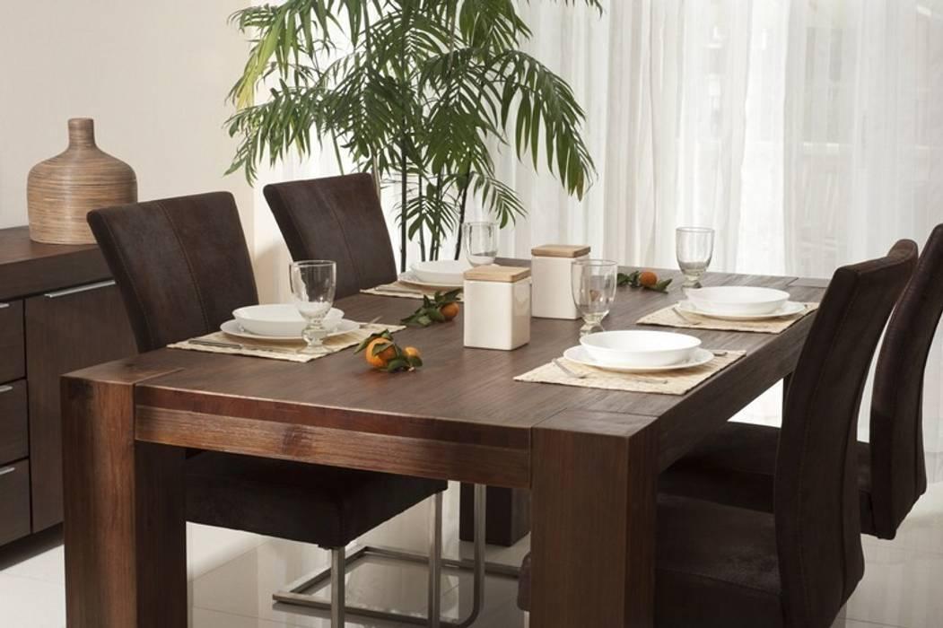 Möbel Für Esszimmer : Esstisch akazie pinie massiv holz moebel esszimmer tisch