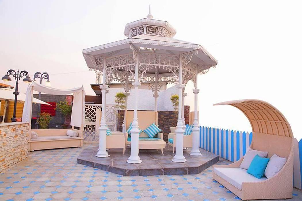 Concept Terraces Modern balcony, veranda & terrace by homify Modern