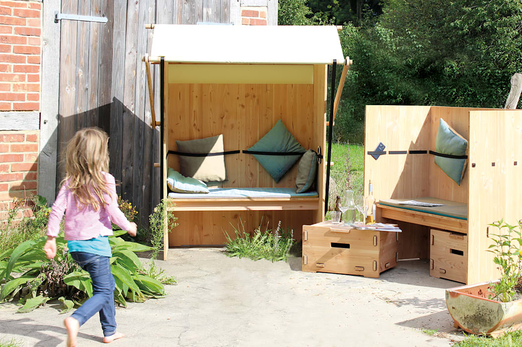 modern  by Werkhaus Design + Produktion GmbH, Modern Wood Wood effect