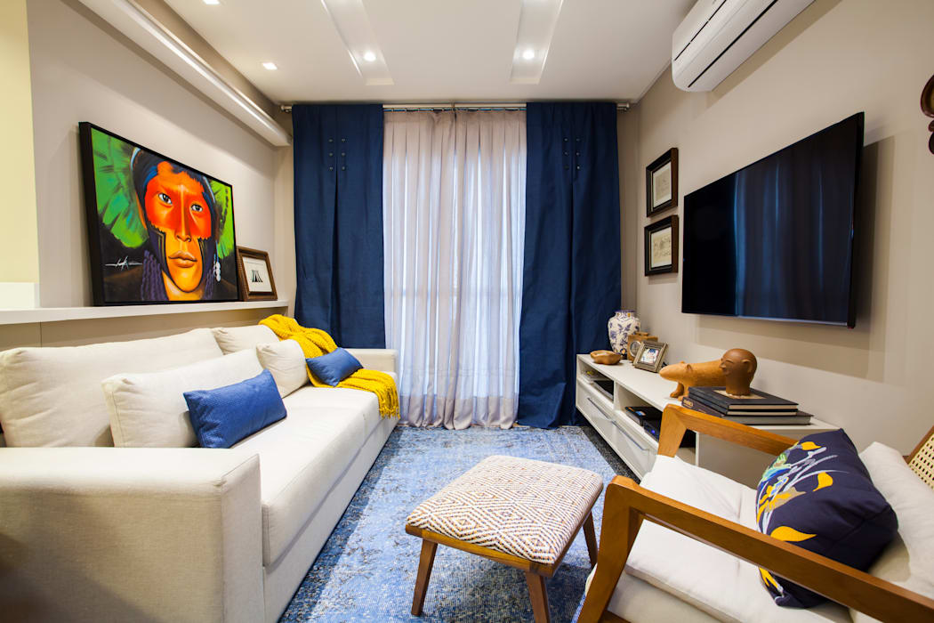 Estúdio HL - Arquitetura e Interiores Living room