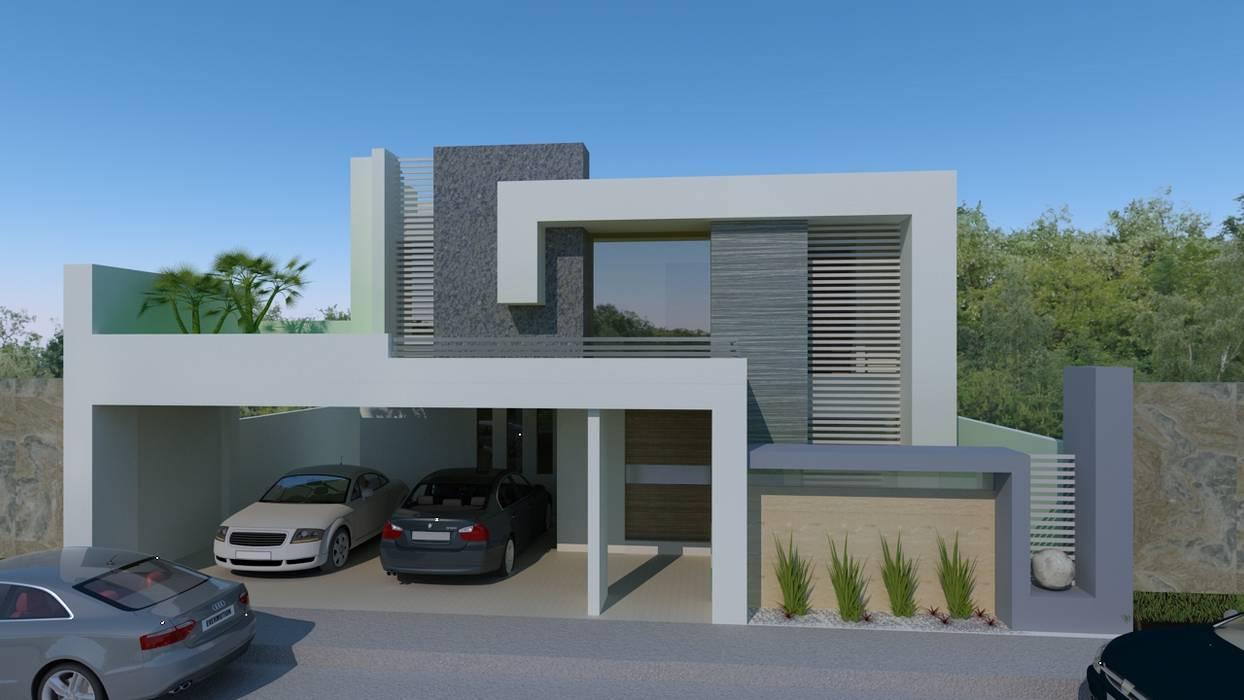 Maisons modernes par CouturierStudio Moderne