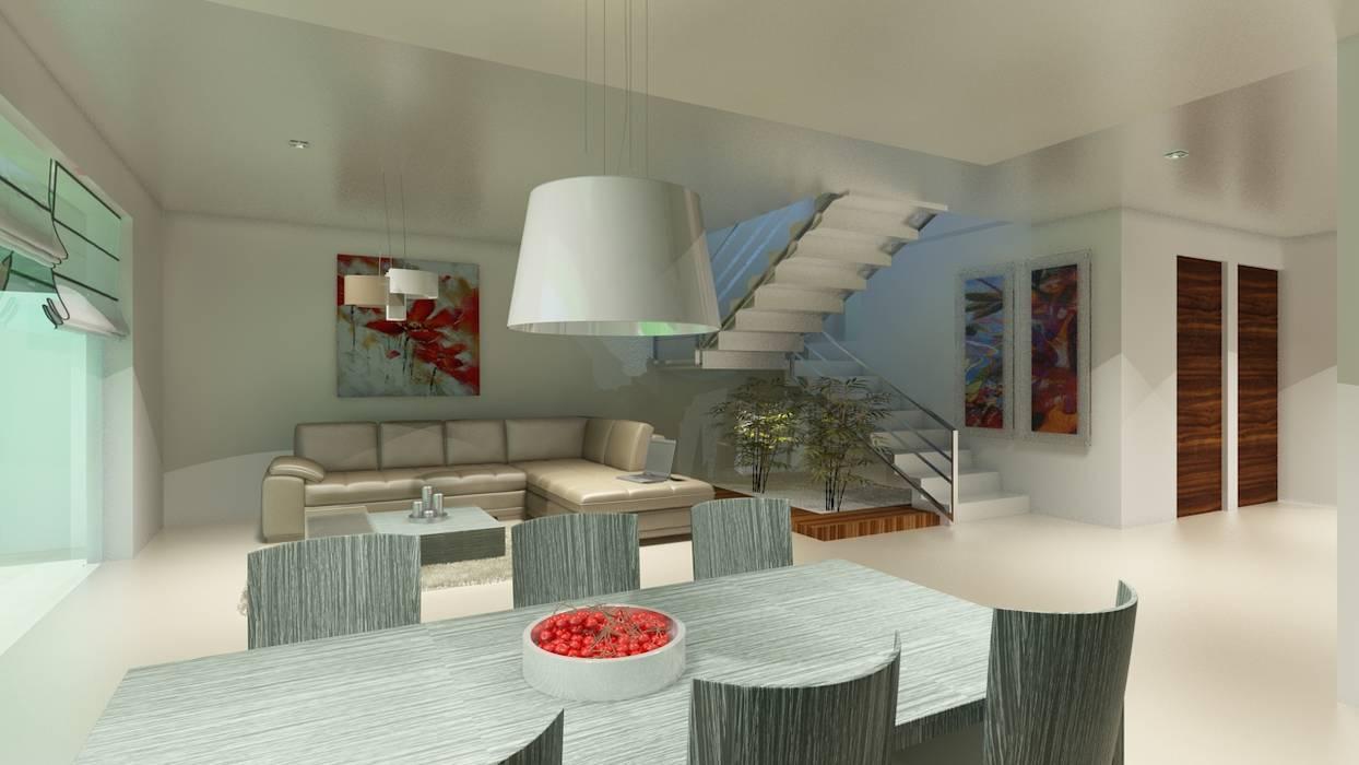 Salle à manger moderne par CouturierStudio Moderne