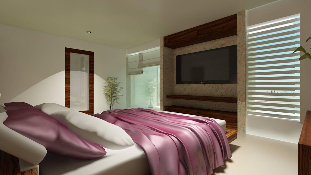 Chambre moderne par CouturierStudio Moderne