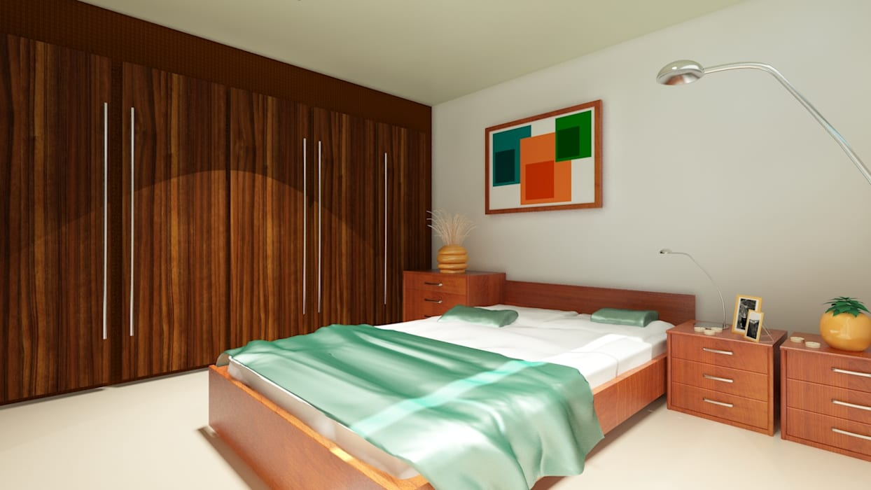 Chambre d'enfant moderne par CouturierStudio Moderne