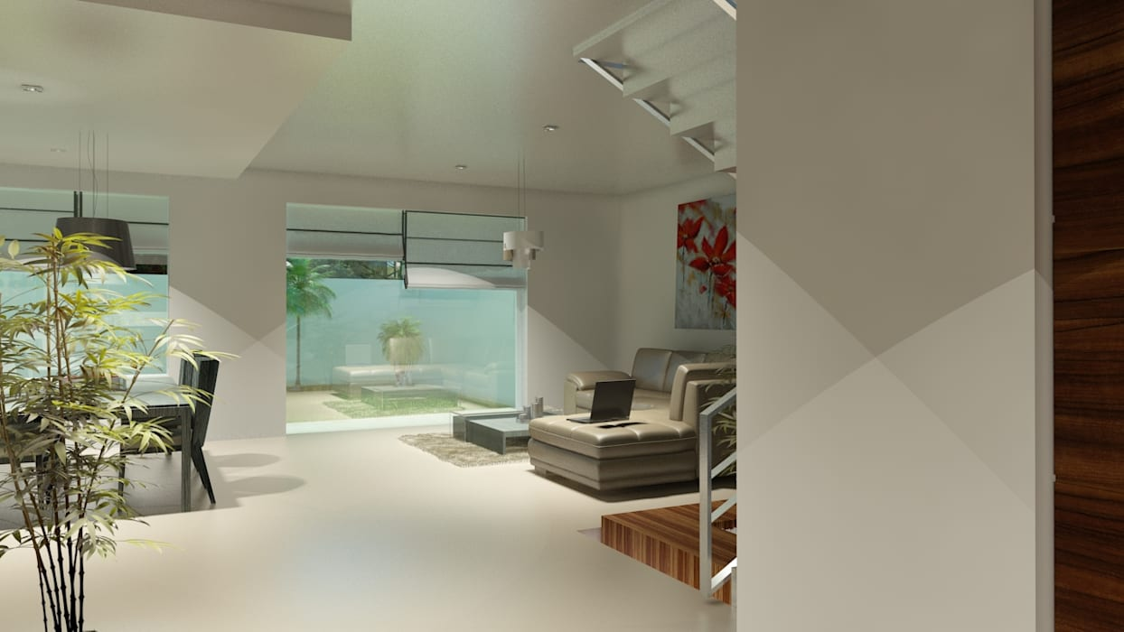 Salon moderne par CouturierStudio Moderne