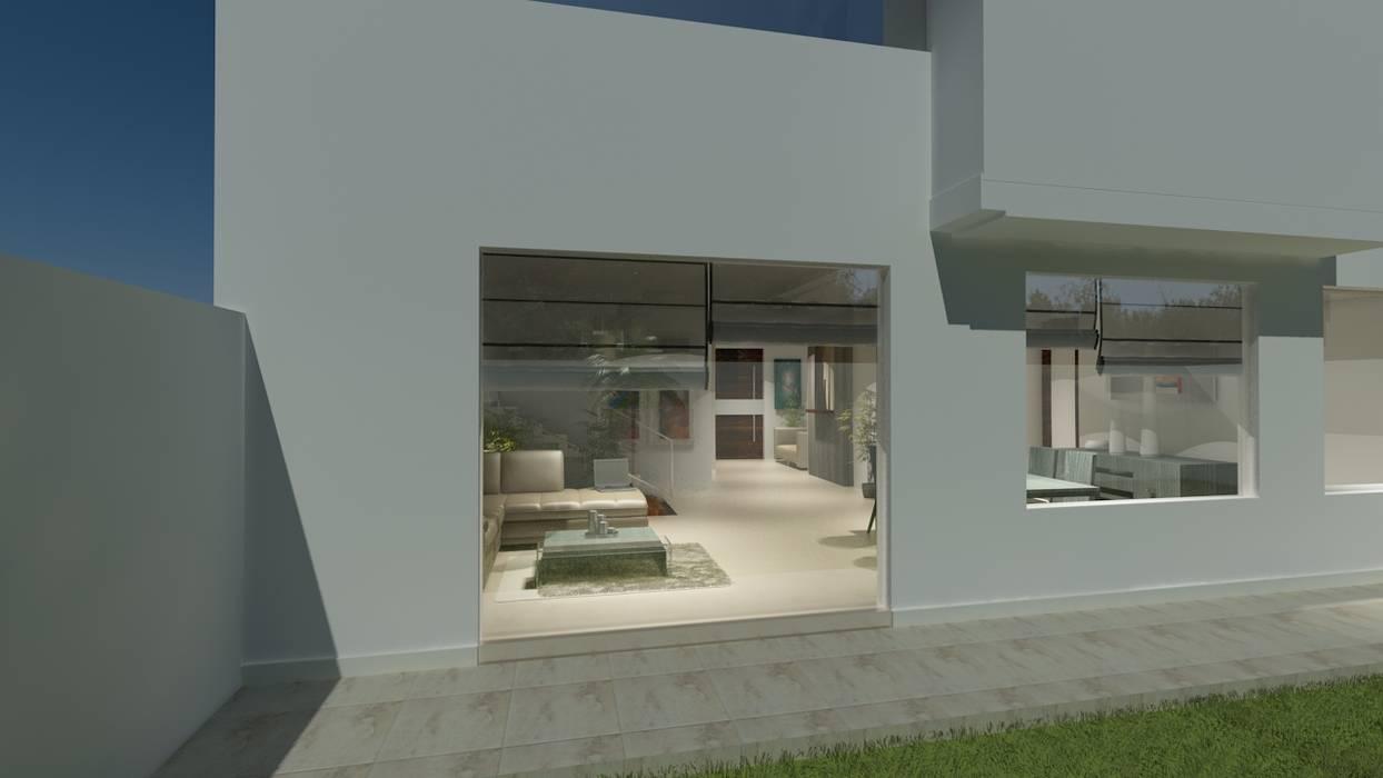 Jardin moderne par CouturierStudio Moderne
