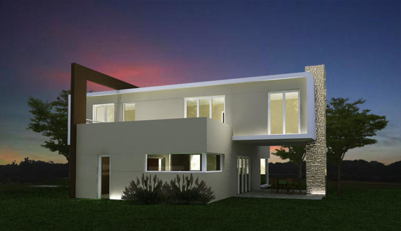 Viviendas Unifamiliares Barrio Privado Rumencó - Mar del Plata Casas modernas: Ideas, imágenes y decoración de Estudio Arquitectura Integral Moderno