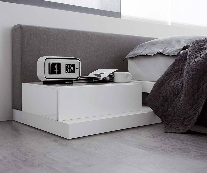 Design nachttisch. amazing nachttisch modern lack edel weiss luxus x
