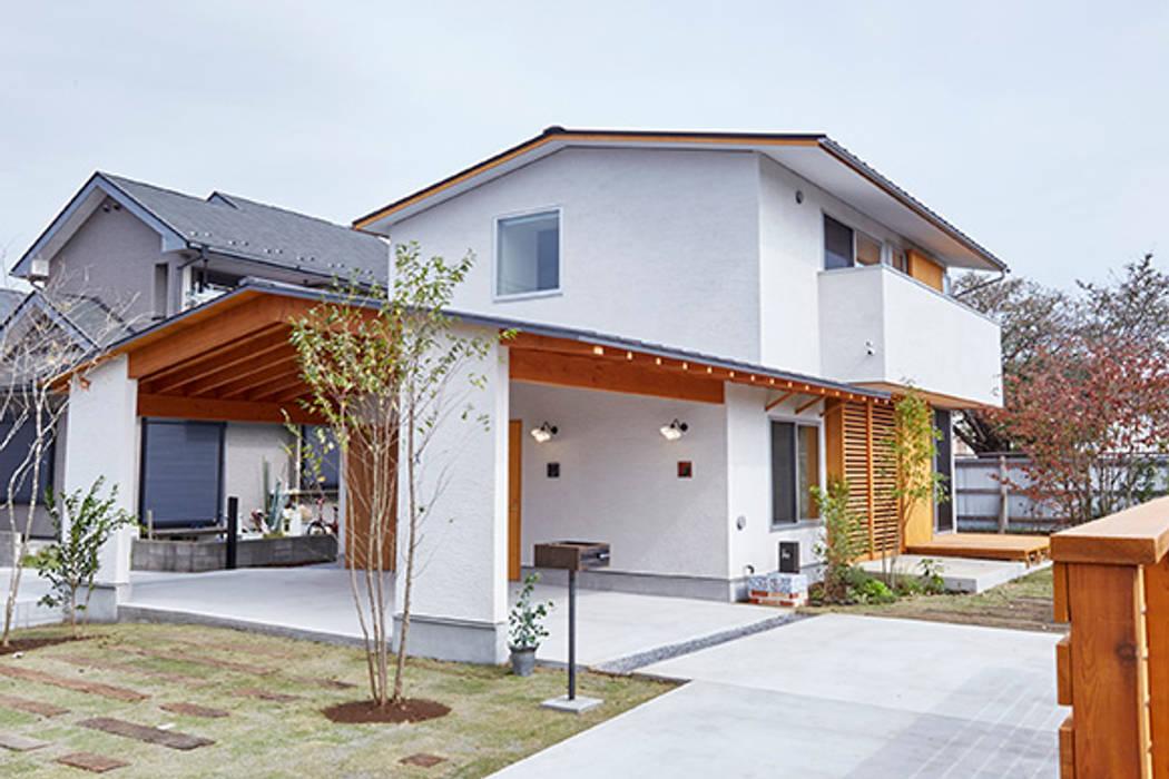 Rumah oleh 一級建築士事務所co-designstudio