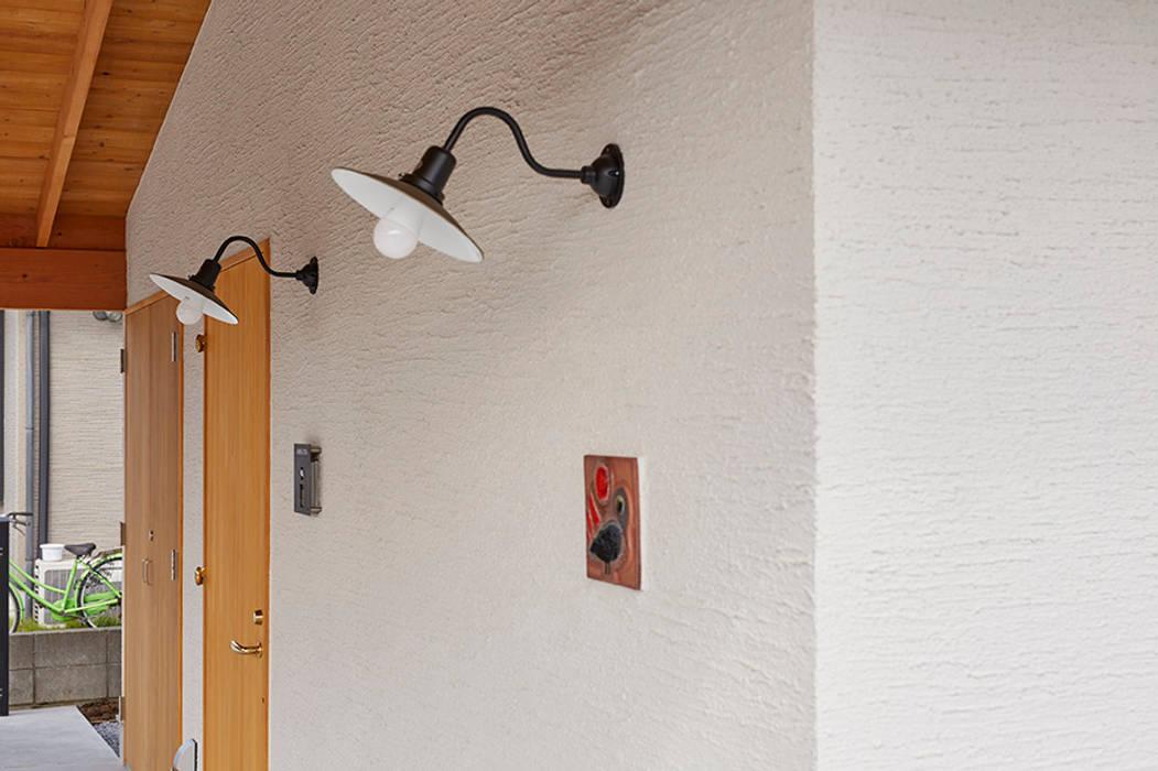 Rumah oleh 一級建築士事務所co-designstudio, Skandinavia Kayu Wood effect
