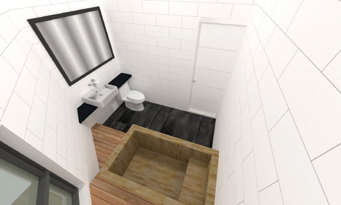 Modern bathroom by 한글주택(주) Modern
