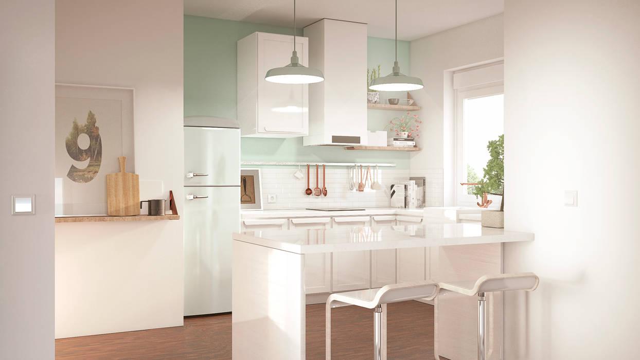 Kitchen by ERC, Scandinavian