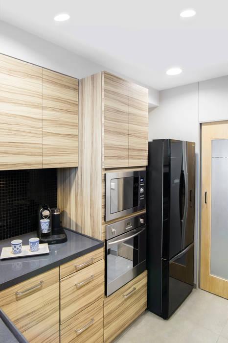 de Nitido Interior design Moderno Madera Acabado en madera