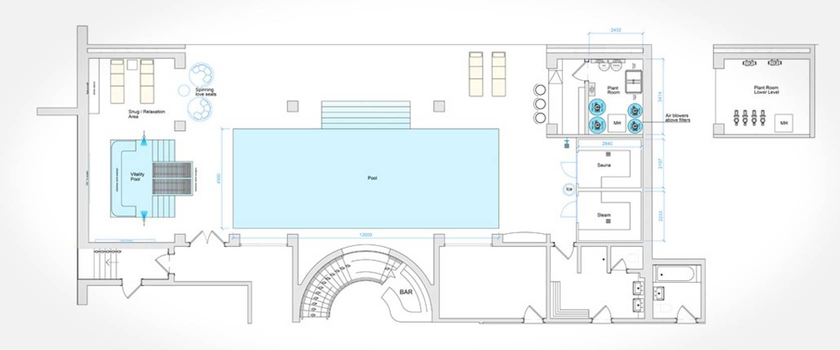 Birchlands Aqua Platinum Projects Classic style pool
