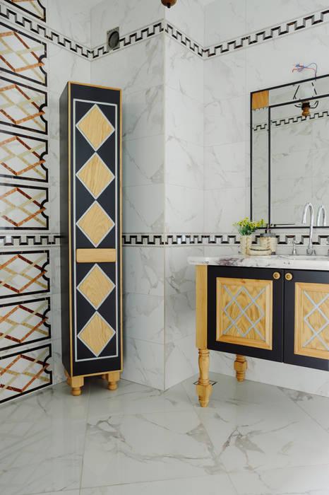 Mekan Tasarımı Modern Banyo Bilgece Tasarım Modern