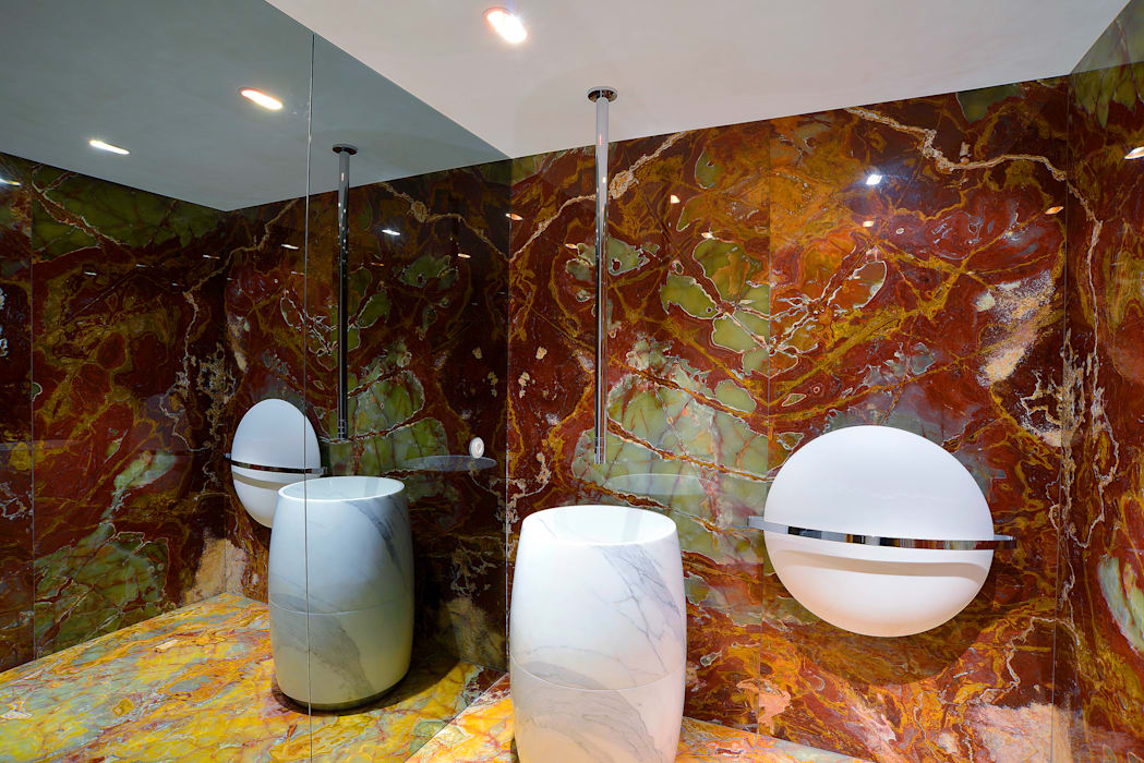 GRAU.ZERO Arquitectura Classic style bathroom