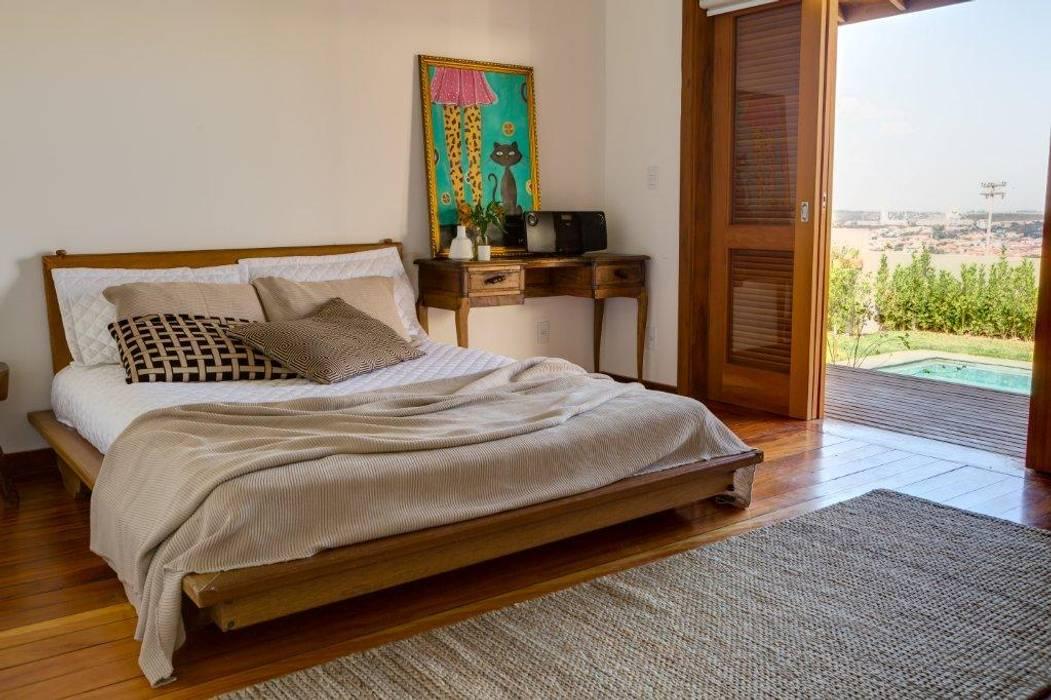 Bedroom by Flavio Vila Nova Arquitetura,