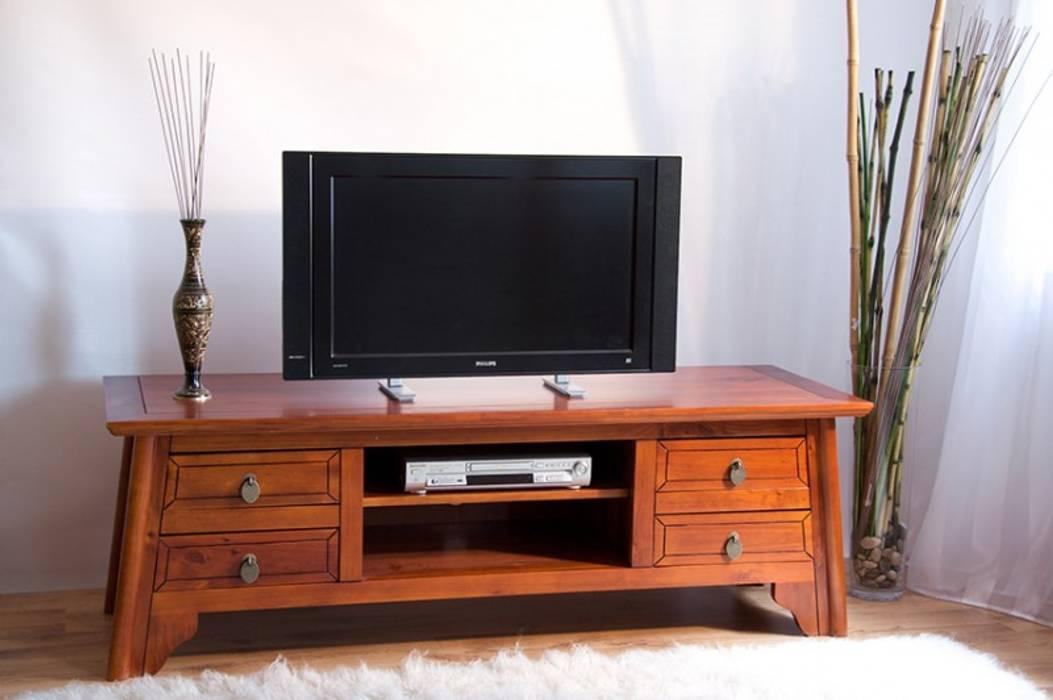 Tv Unterschrank China Pinie Massiv Holz Moebel Tv Bank Lowboard