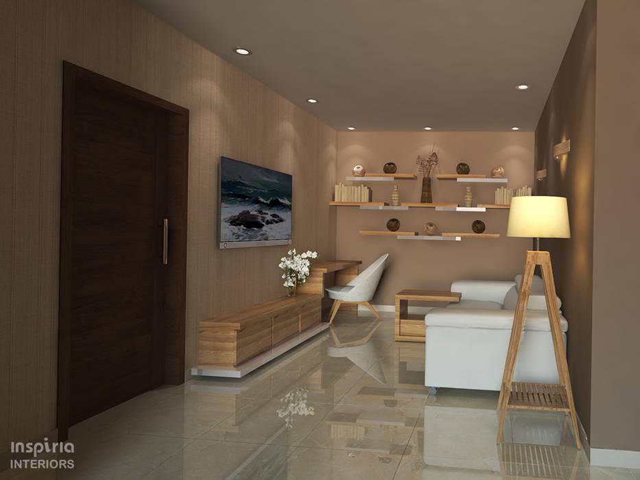 Ruang Multimedia oleh Inspiria Interiors, Modern