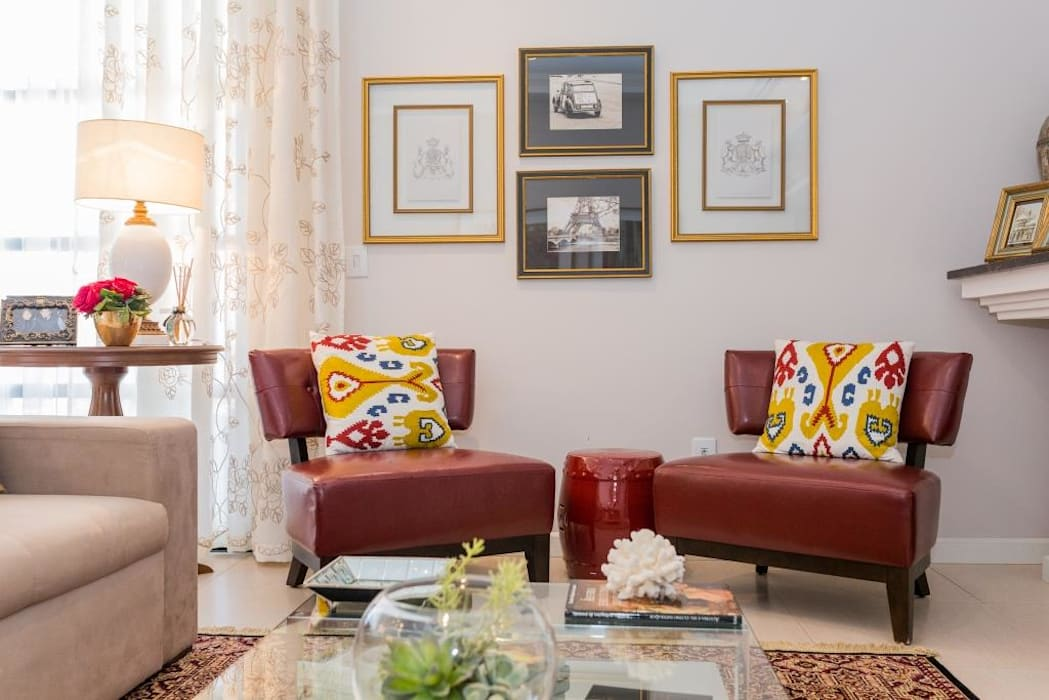 Salon original par Marcelo Lopes Arquitetura Éclectique