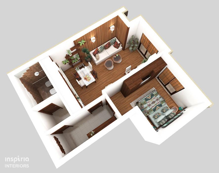 Столовые комнаты в . Автор – Inspiria Interiors, Кантри
