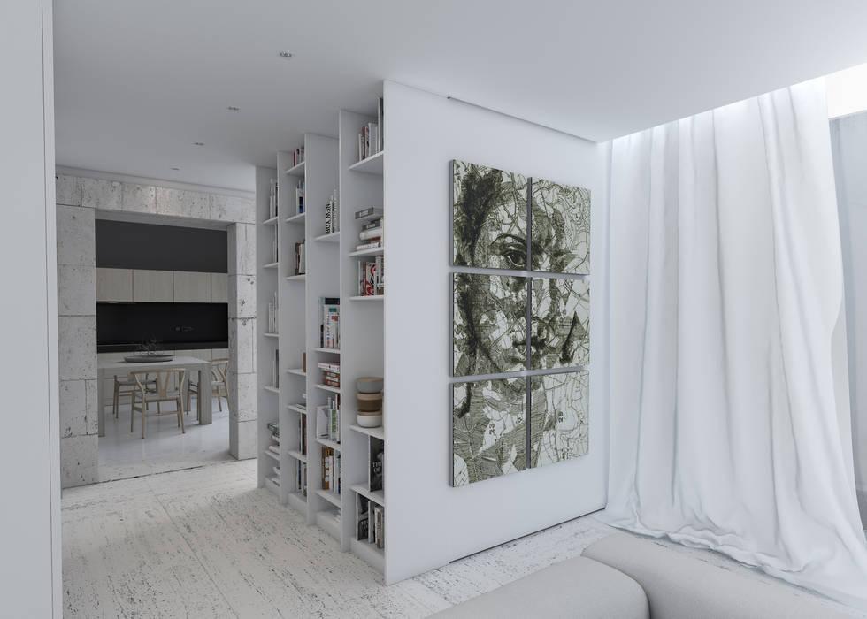 Corredor Corredores, halls e escadas minimalistas por Varq. Minimalista