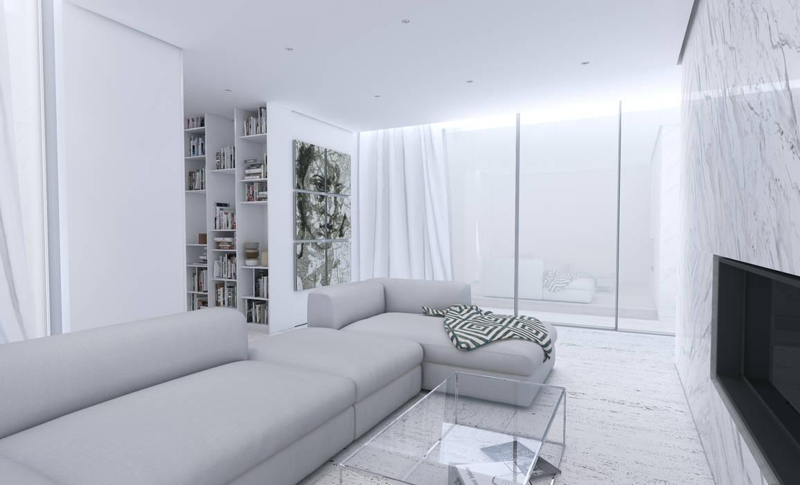 Varq. Salas de estilo minimalista