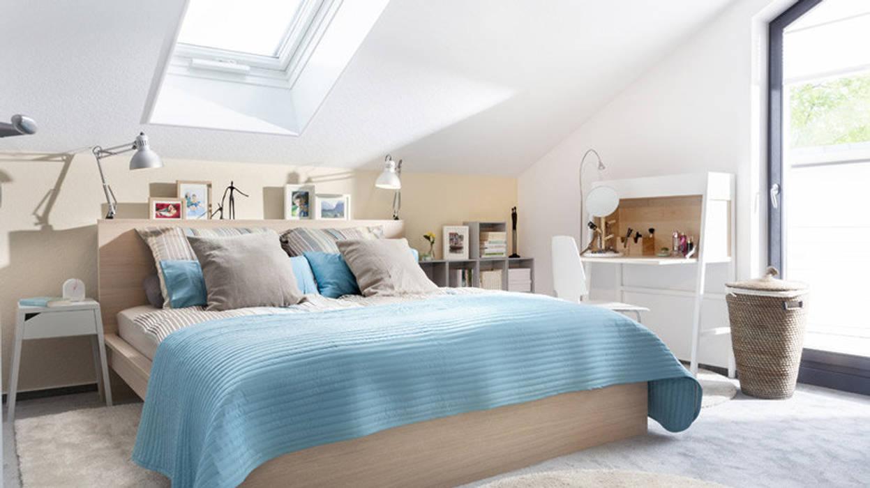 YOUNG FAMILIY HOME - Schlafzimmer: modern  von SchwörerHaus,Modern Holz Holznachbildung