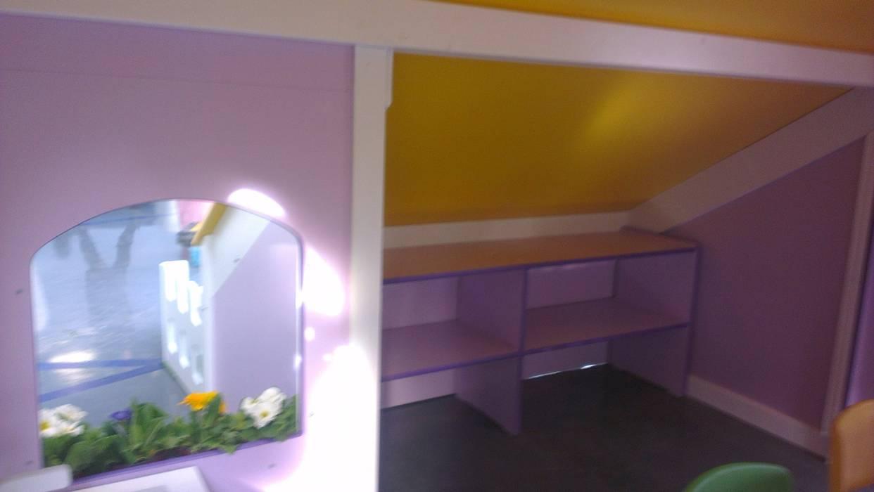 Bersa İç ve Dış Ticaret Ltd. Şti. – Oyun Evi İç Mekan:  tarz Çocuk Odası