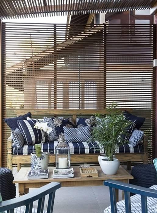 Balcon, Veranda & Terrasse originaux par Flavia Guglielmi Arquitetura Éclectique