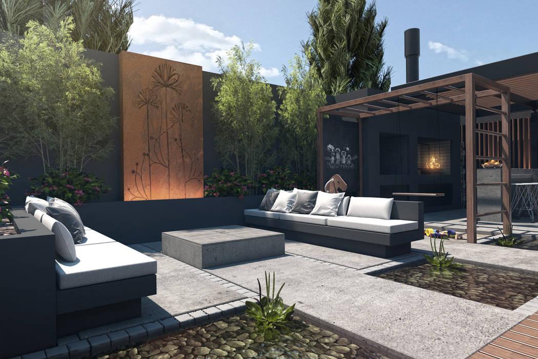 Terrasse de style  par TDC - Oficina de arquitectura, Moderne