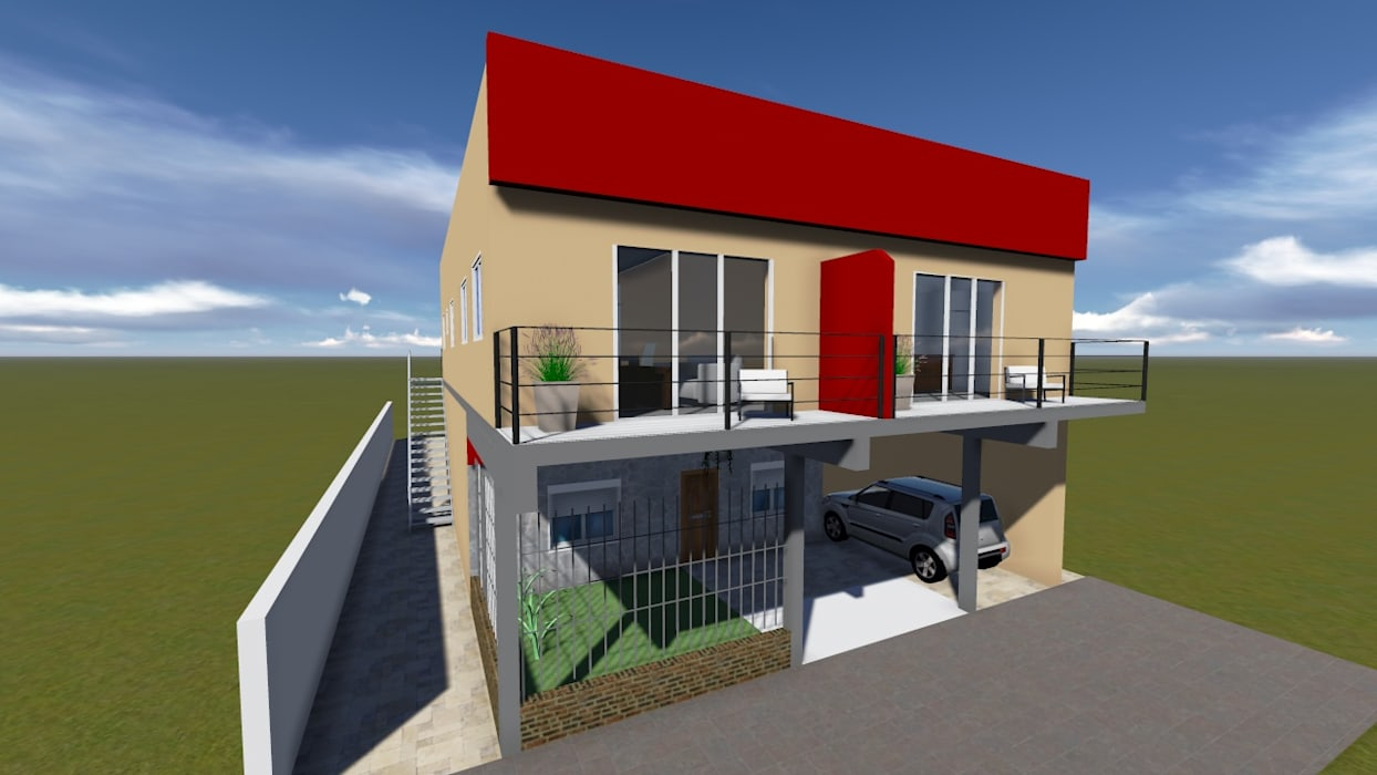Häuser von GM Arquitectura&Construcción, Modern