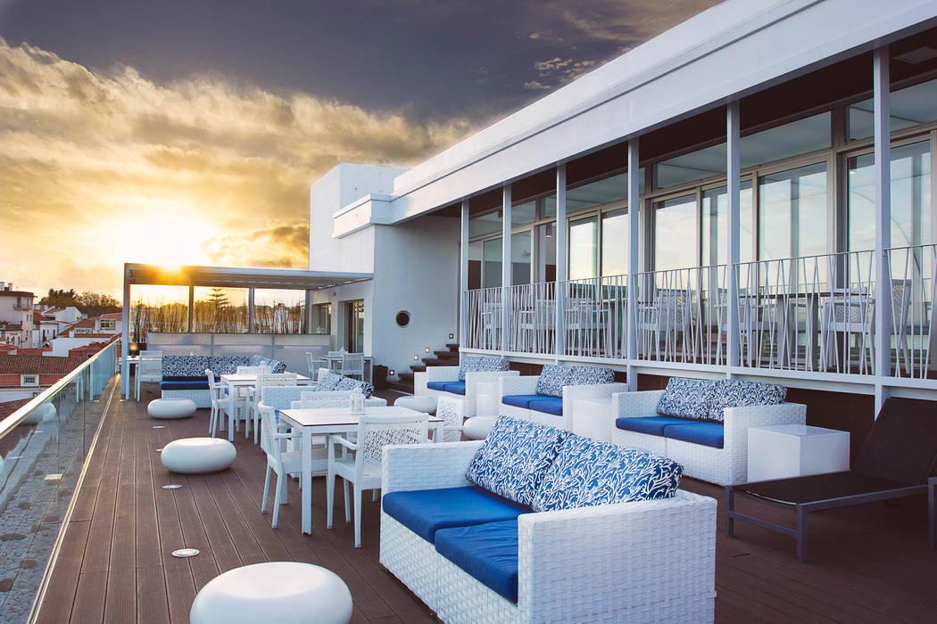 Por do Sol no Blue Bar Pedro Brás - Fotógrafo de Interiores e Arquitectura | Hotelaria | Alojamento Local | Imobiliárias Hotéis mediterrânicos